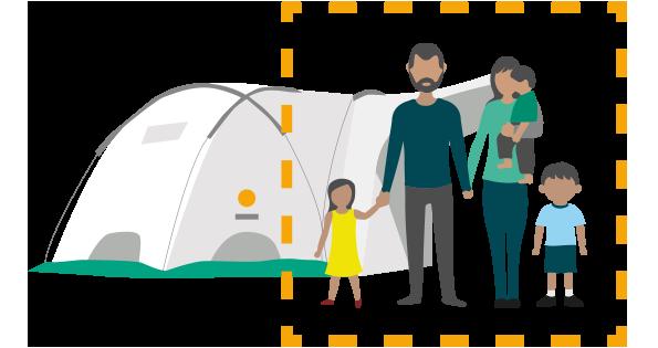 Coronavirus shelter saves lives icon 3