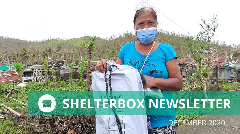 ShelterBox New Zealand December 2020 newsletter