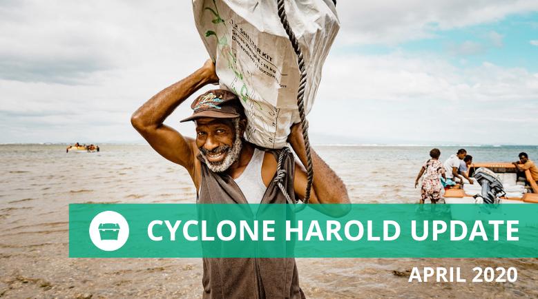 ShelterBox NZ Cyclone Harold Update