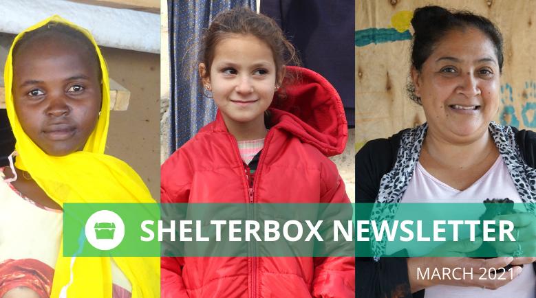 ShelterBox NZ Newsletter March 2021