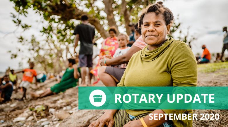 ShelterBox NZ September Rotary Updates